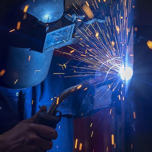 Buhler Component Welder - Industrial Photography