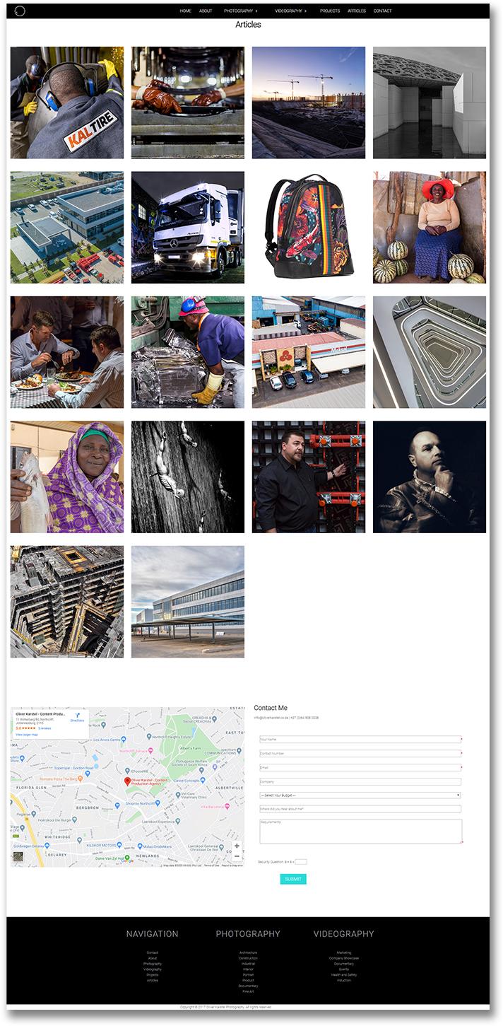 Oliver Karstel - HTML Website Development
