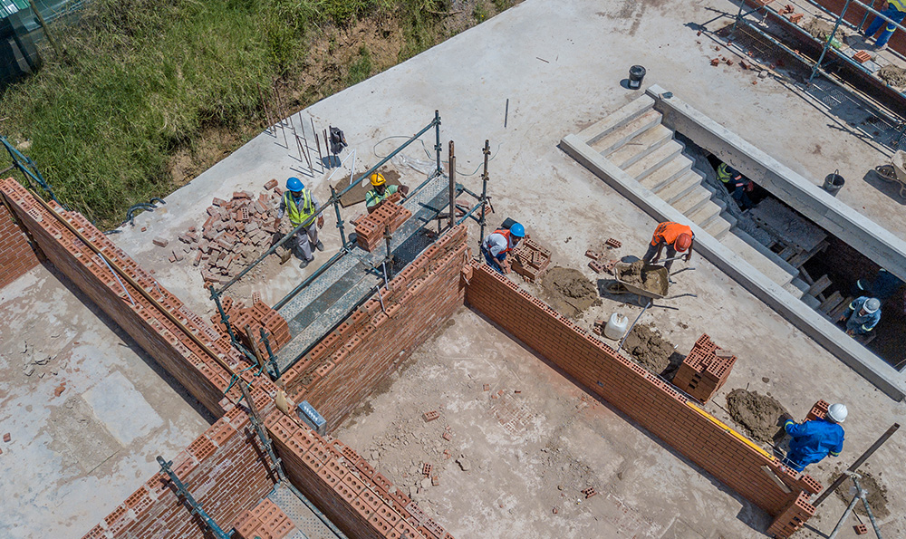 Aerial and Drone Photography - Durban Construction Site