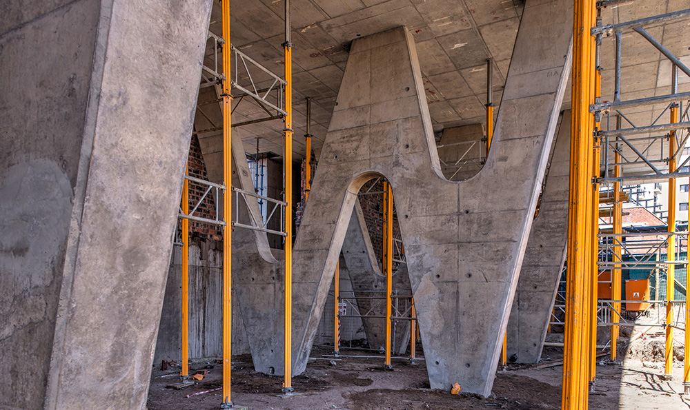 Construction Photography - Seaside Mall Cape Town
