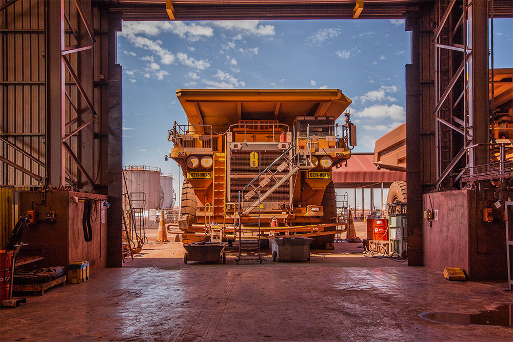 Industrial Photography - Anglo American Mining Vehicle