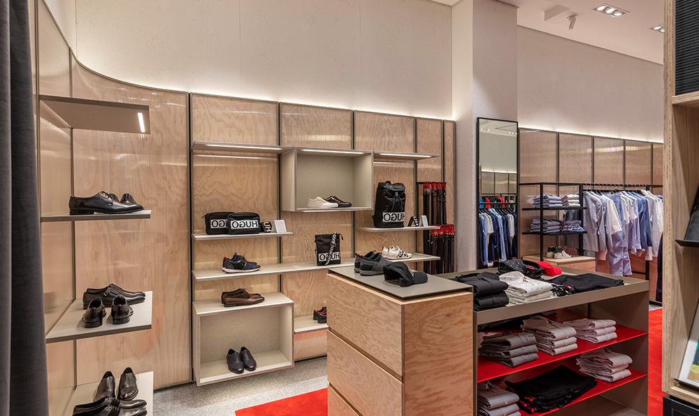 Interior Architecture Photography - Hugo Boss Store Sandton