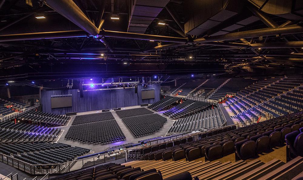 Interior Architecture Photography - Sun Arena Casino Venue
