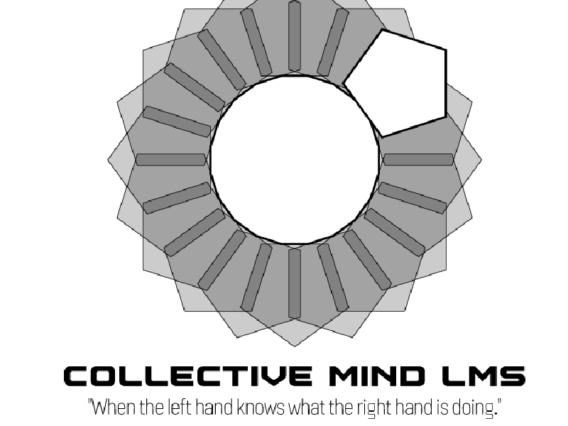 Logo and Graphic Design for Collective mind LMS