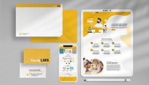 LMS Brand CI graphic design template