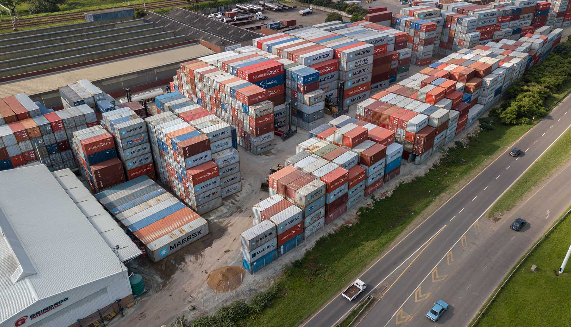 Aerial/Drone Photography for Grindrod intermodal distro centers