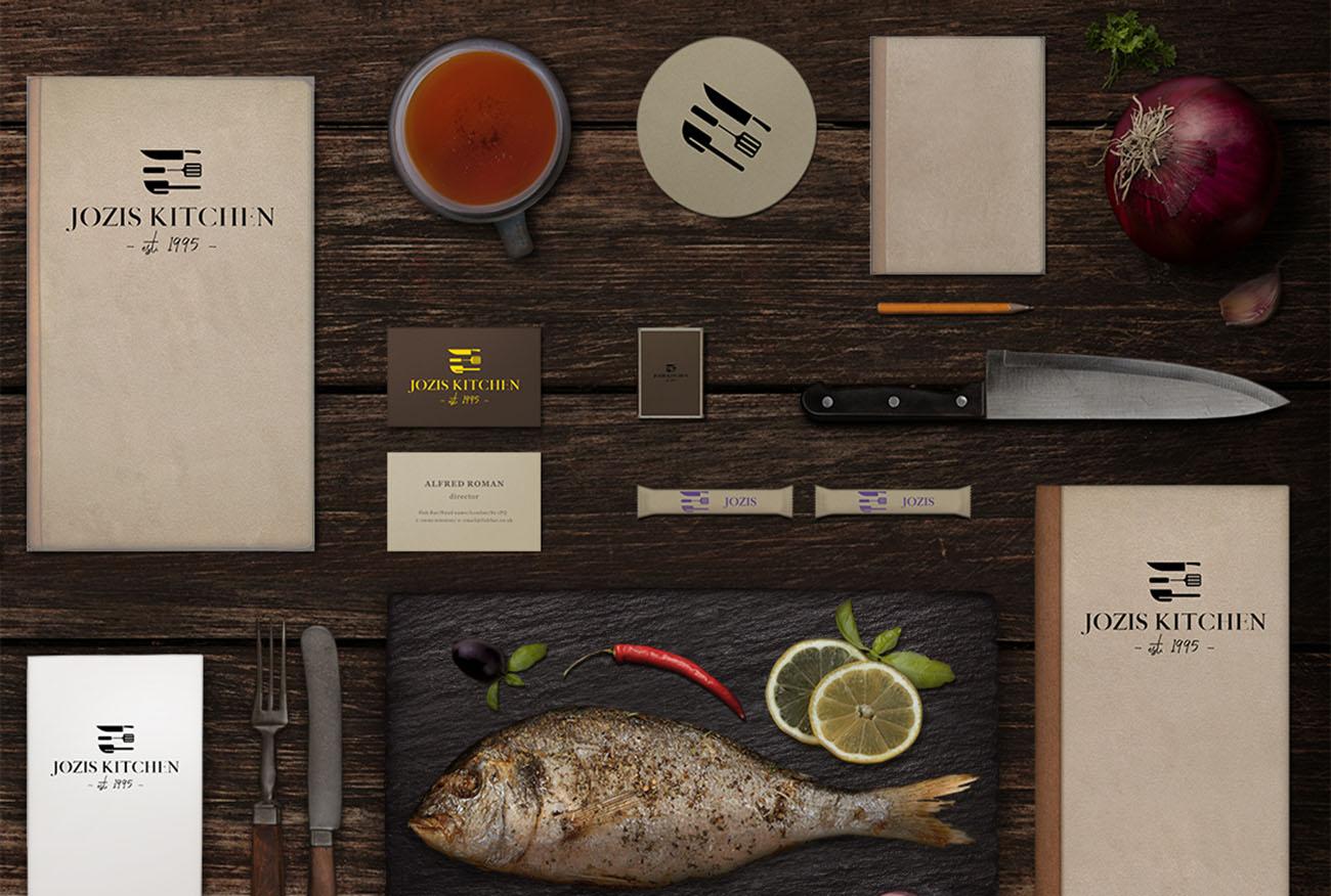 Brand CI for Jozi's Kitchen