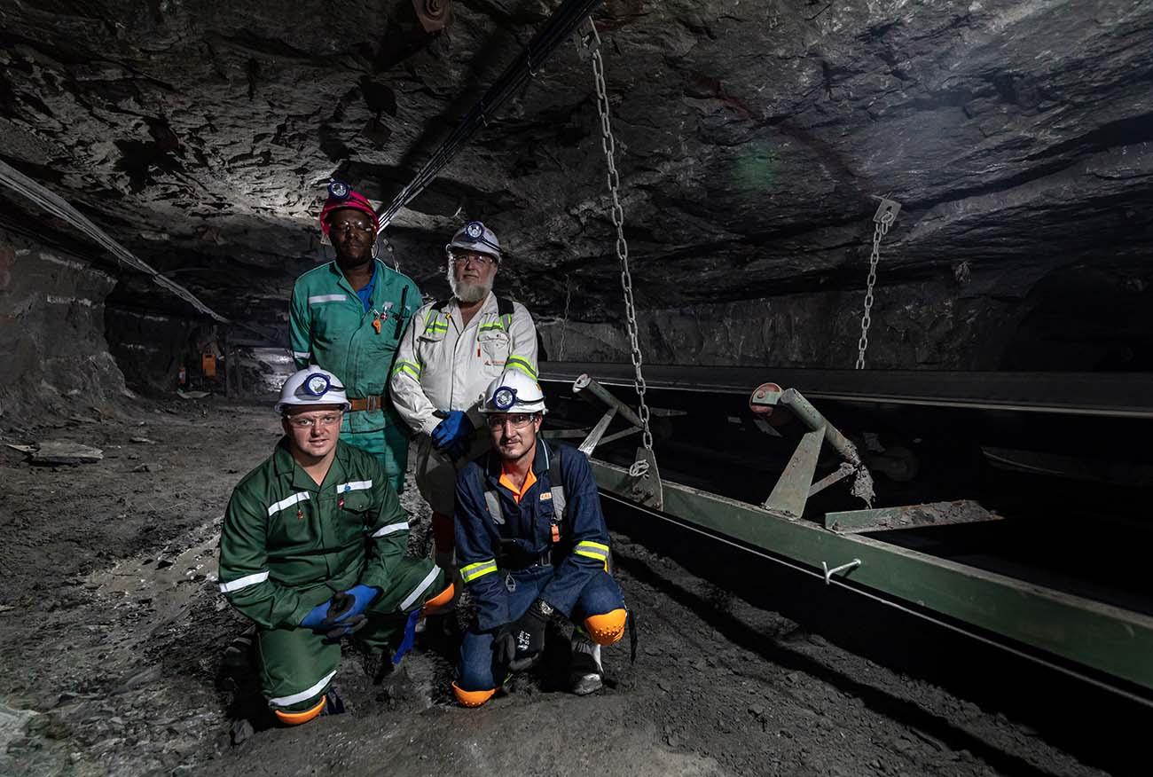 Industrial Photography, Kal tire underground mine