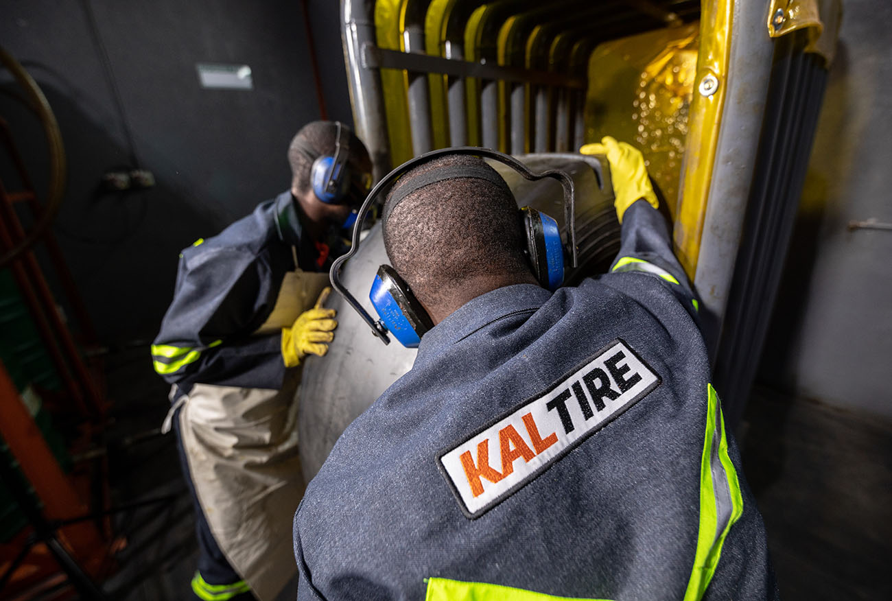 Industrial photography, Kal tire factory workers