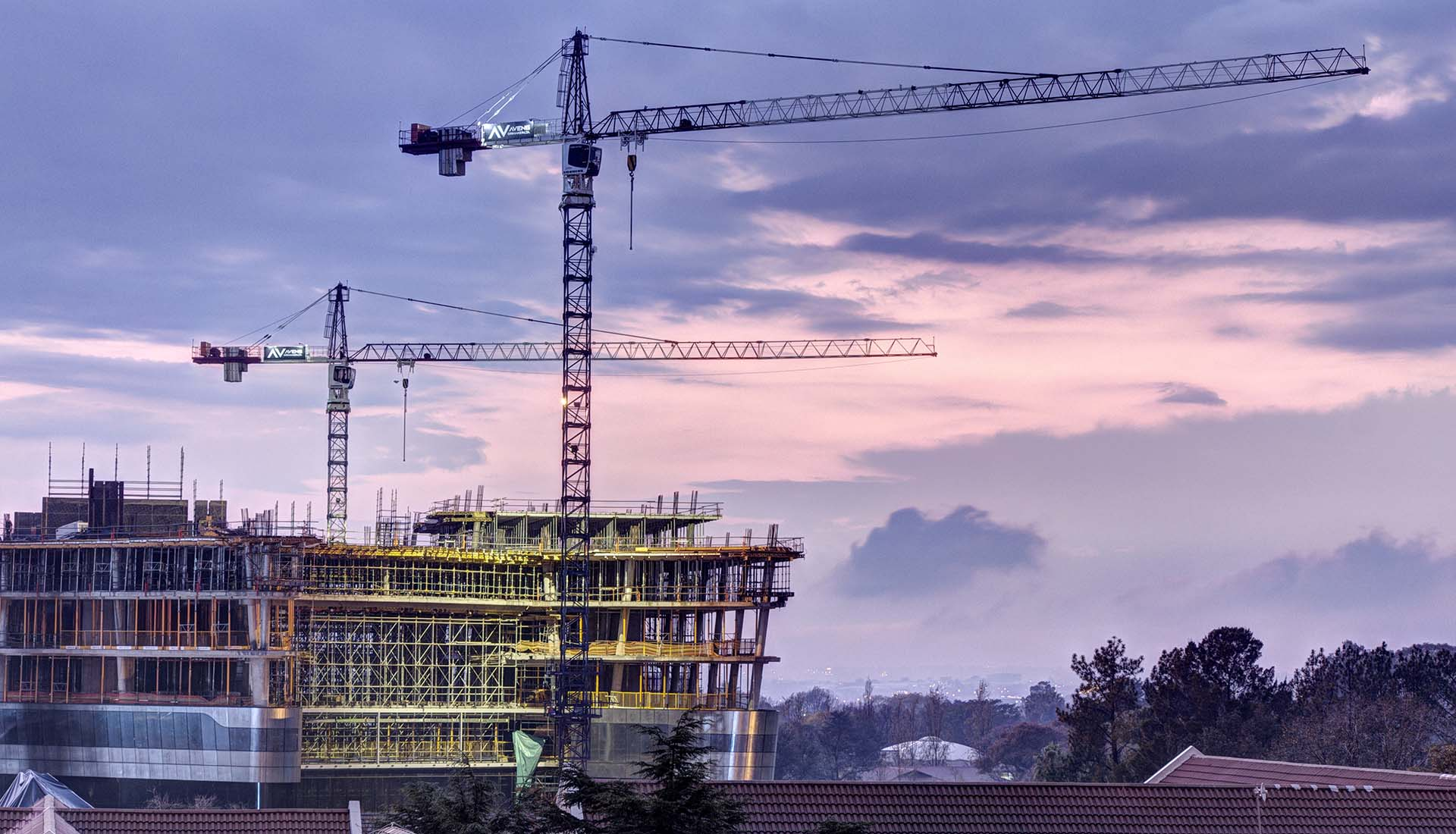 Construction Photography, Construction Site shot for PERI