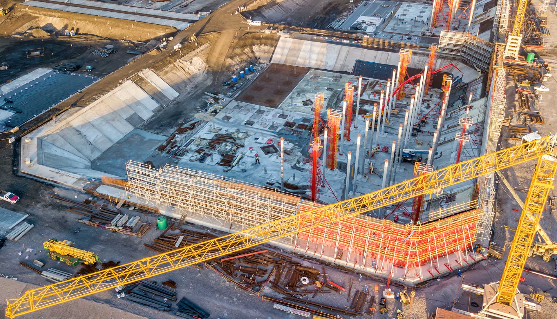 Construction Photography, MOGS Construction site by PERI
