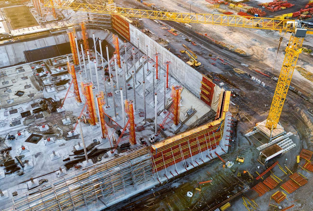 Construction and Drone Photography , Peri Mogs build site
