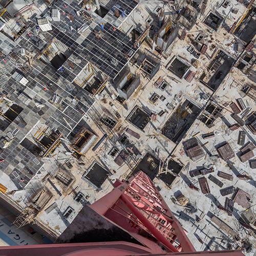 Construction Photography, Peri Sky Deck, Dubai, UAE